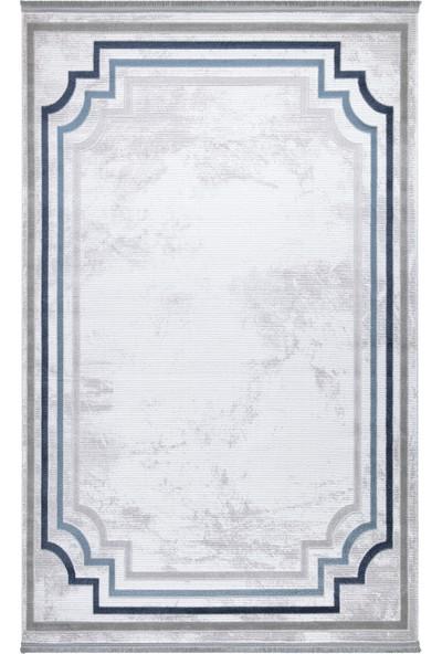 Atlantik Halı İklim 0005Bb Mavi 80 x 150 cm Modern Halı