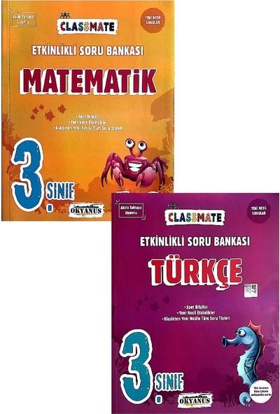 Okyanus Yayınları 3. Sınıf Matematik,türkçe Etkinlikli Soru Bankası Seti