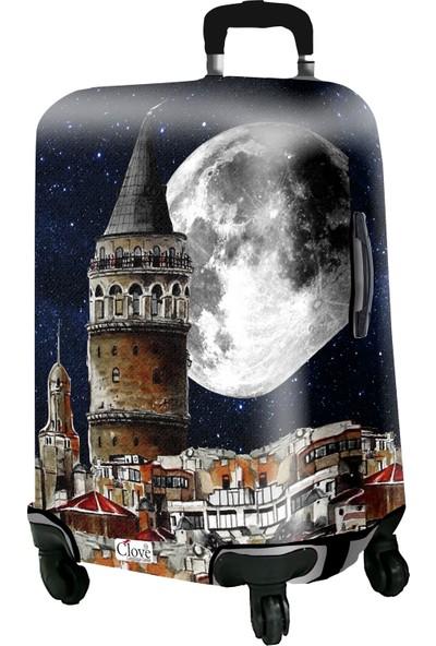 Clove Valiz kılıfı Galata Kulesi