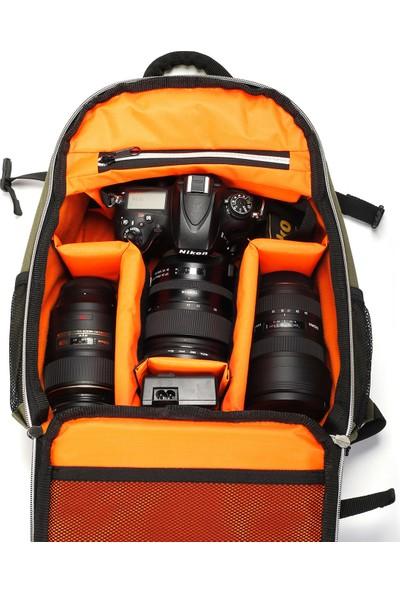 Eye 6616 Fotoğrafçı Sırt Çantası Yeşil