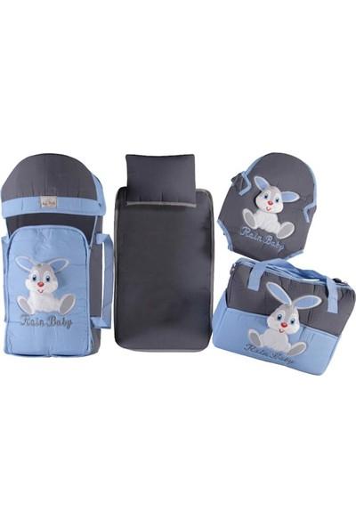 Rain Baby 4'lü Tavşan Figürlü Taşıma Seti