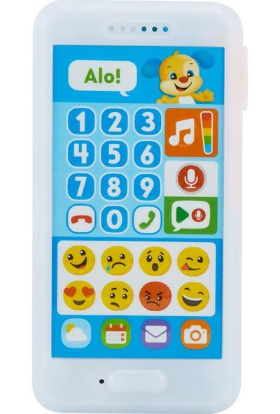 Fisher-Price Eğlen & Öğren İnteraktif Akıllı Telefon (Türkçe) Emojili FPR25