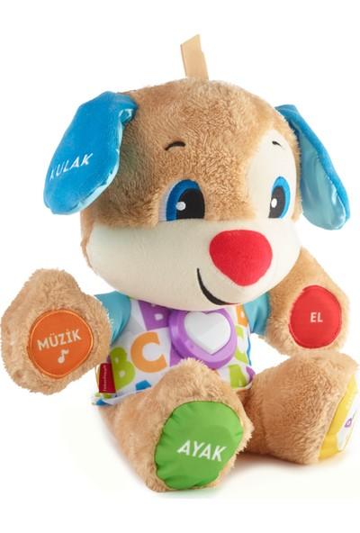 Fisher-Price Eğlen & Öğren Yaşa Göre Gelişim Eğitici Köpekçik (Türkçe) Sesli, Işıklı Oyun Arkadaşı, Mavi FPN79