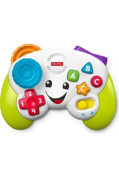 Fisher-Price Eğlen & Öğren Eğitici Oyun Kumandası (Türkçe), Joystick, Bebeğinizi Sayılar, Renkler, Şekillerle Tanıştırır FWG23