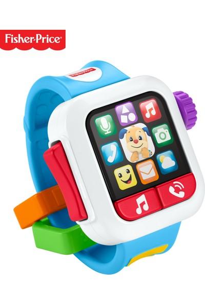 Fisher-Price Eğlen & Öğren Akıllı Saat (Türkçe ve İngilizce), Müzikli Bebek Oyuncağı GMM53