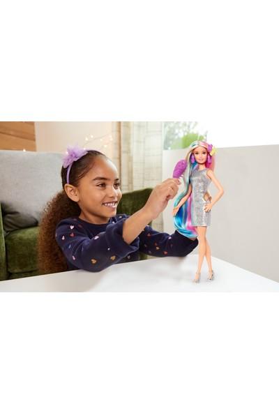 Barbie Rengarenk Saçlar Bebeği GHN04