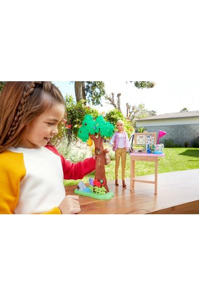 Barbie Nat Geo Kelebek Bilimi Oyun Seti GDM49