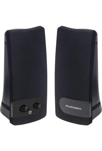 Platoon PL-4054 1-1 Bilgisayar Laptop Speaker Hoparlör