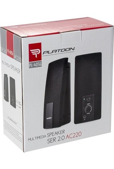 Platoon PL-4056 1-1 Laptop Speaker Bilgisayar Hoparlör
