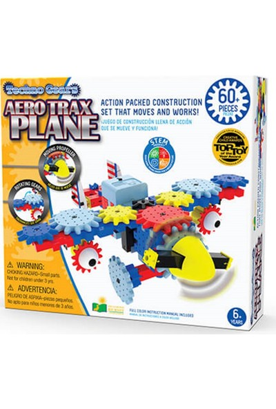 The Learning Journey International Stem Serisi / Trax Plane (60 Parça)