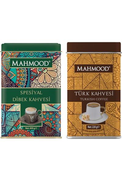 Mahmood Coffee Dibek Kahvesi 400 gr ve Türk Kahvesi 200 gr