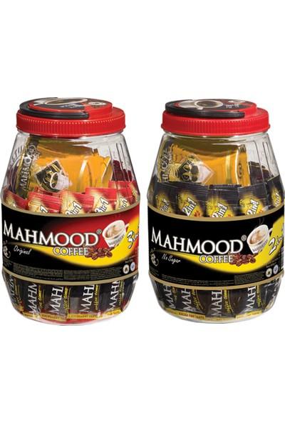 Mahmood Coffee 2'si 1 arada ve 3'ü 1 arada Kavanoz Bardak 36 x 2