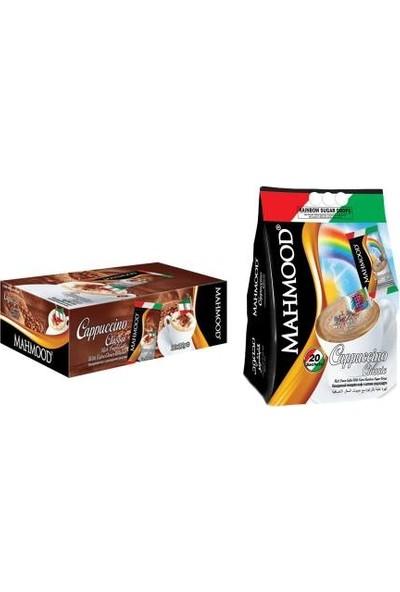 Mahmood Coffee Cappuccino Çikolata Parçacıklı ve Şeker Parçacıklı 20 x 2