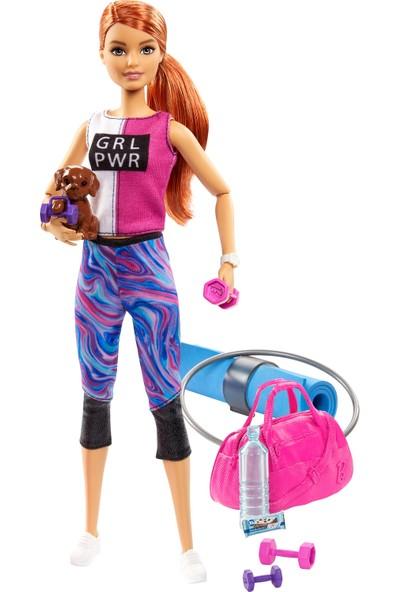 Barbie Wellness Barbie'nin Spa Günü Bebekleri - Spor Temalı GJG57