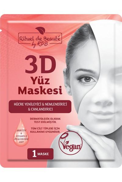 Rituel de Beaute 3D Hücre Yenileyici ve Canlandırıcı Maske 5 Li