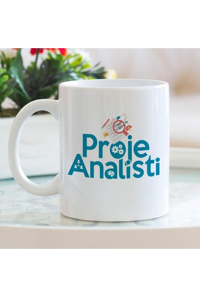 Hediyehanem Proje Analisti Porselen Kupa Bardak