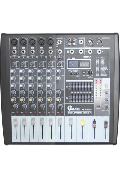 Alfon ALP-6008 6 Kanal Dec Mikser