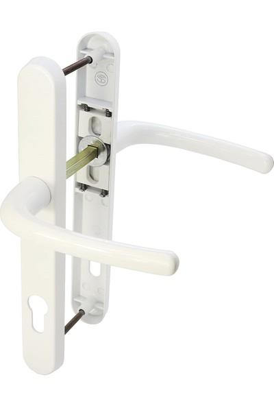 Seç Beğen Gelsin Beyaz Renk PVC Balkon Kapı Kolu Alüminyum