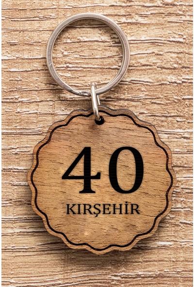 Hediye Dükkanı 40 Kırşehir Ahşap Anahtarlık