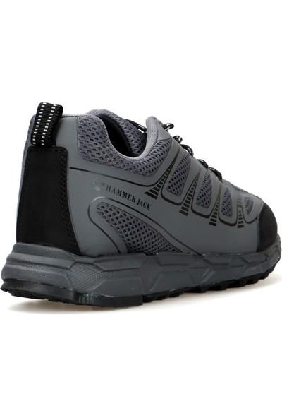 Gri-Siyah Erkek Ayakkabı 102 20870-M