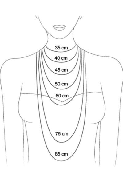 X-lady Accessories Erkek Gümüş Zincir Erkek Kolye