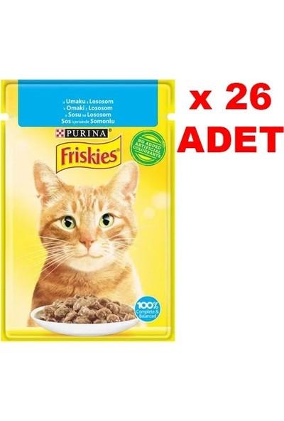 Friskies 85 gr Somonlu Kedi Yaş Mama 26 Adet