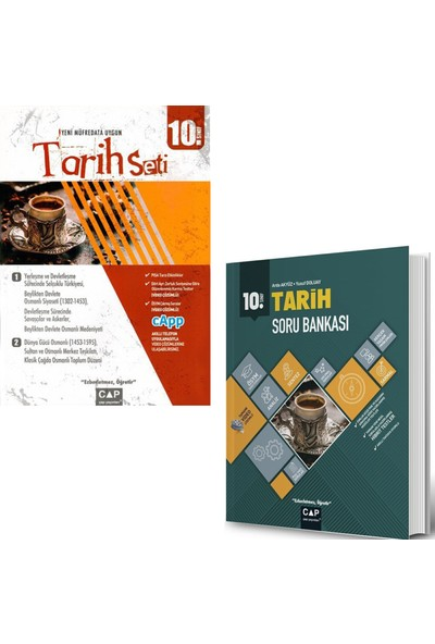 Çap Yayınları 10. Sınıf Anadolu Tarih Seti ve Tarih Soru Bankası