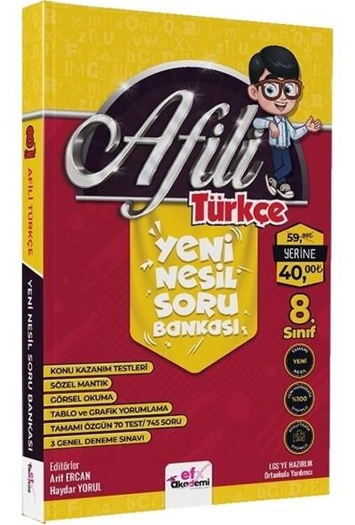 Efx 8. Sınıf Afili Türkçe Yeni Nesil Soru Bankası