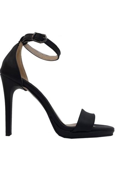 Gizem Maxsens 802 Deri Sivri Topuklu Kadın Sandalet