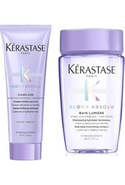 Kerastase Blond Absolu Cicaflash Saç Kremi 75 ml + Şampuan 80 ml