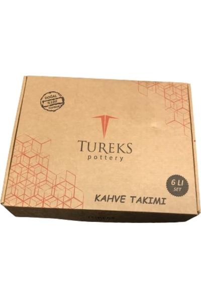 Tureks Sırlı Toprak Fincan Takımı