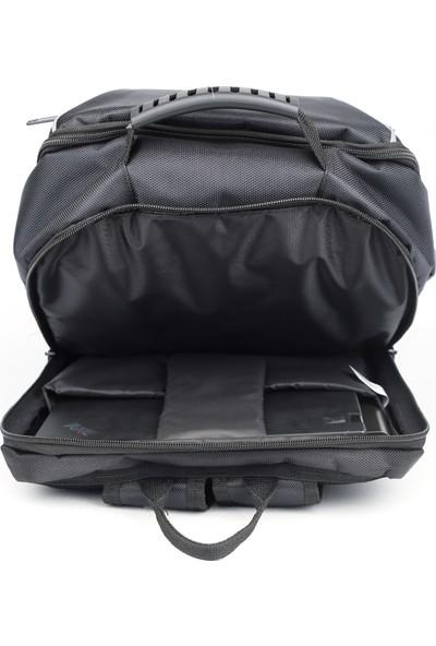 """Eye 1550 Laptop Bölmeli Sırt Çantası 15.6"""" Siyah"""