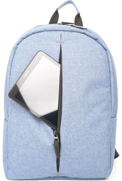 """Eye 1013 Laptop Bölmeli Sırt 15.6"""" Mavi"""