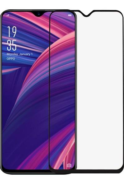Telbor Oppo RX17 Neo Tam Kaplayan Ultra İnce Ekran Koruyucu - Siyah