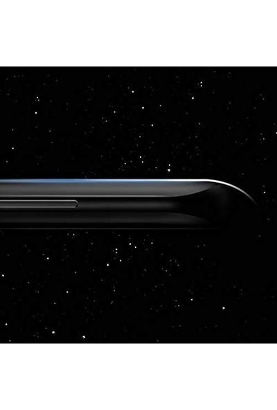 Telbor Oppo Reno 3 Pro Tam Kaplayan Ultra İnce Ekran Koruyucu - Siyah