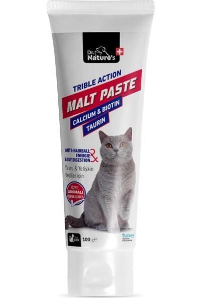 Dr. Natures Kedi Malt Macun Tüy Yumağı İçin Hairball 100 gr