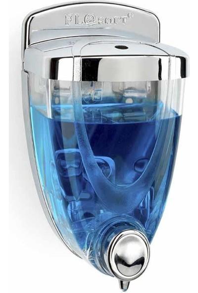 Flosoft Sıvı Sabunluk 350 ml (Krom Kaplama) F017