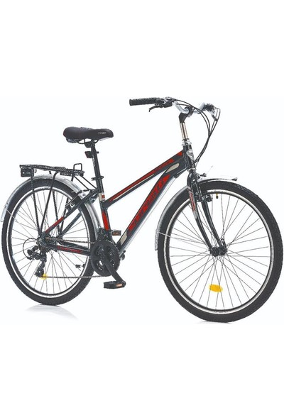 "Corelli 26"" Jant 16"" Alloy Kadro Schule Şehir Bisikleti 21 Vites"
