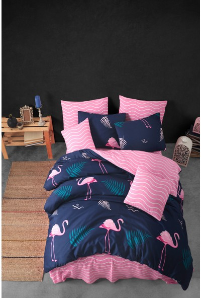 Nakkısh Flamingo Çift Kişilik Nevresim Takımı