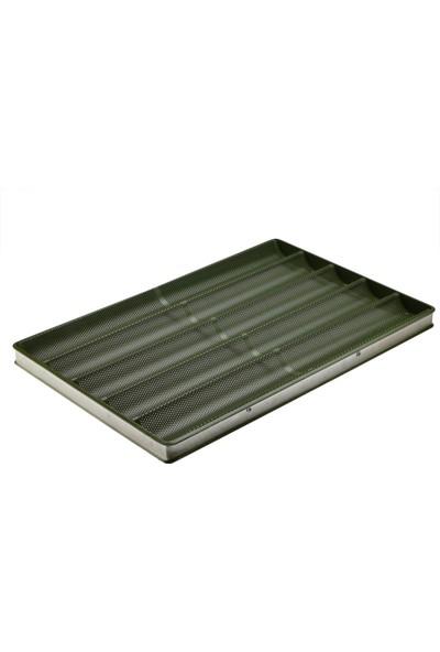 Tok Alüminyum 40 x 60 cm Yapışmaz Kaplamalı Baget Tavası