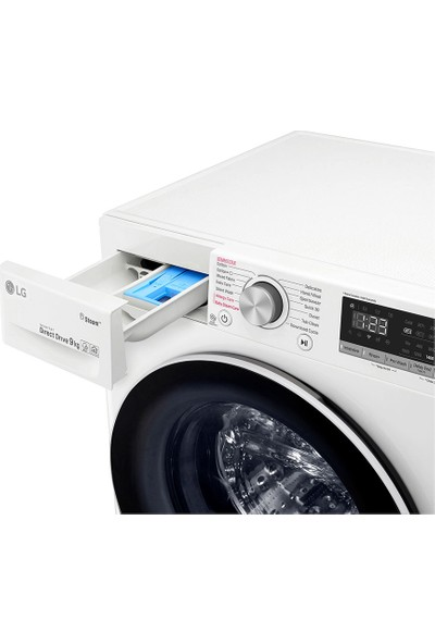 Lg F4R5VYW0W A+++ 1400 Devir 9 kg Çamaşır Makinesi