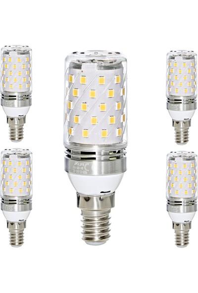 Alpi E14 6w Smd LED Ampul - 4000K - 5'li