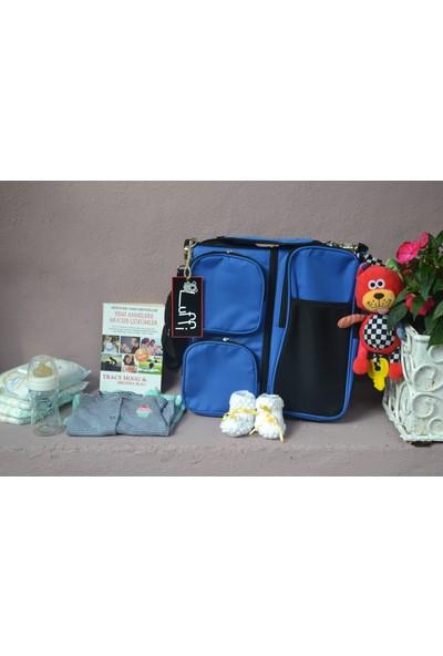 Luffi 3 In 1 Taşınabilir Katlanabilir Bebek Çantası + Isı Göstergeli Termos