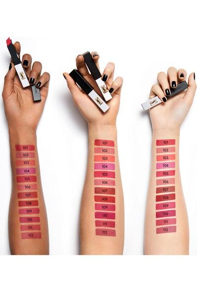 Yves Saint Laurent The Slim Sheer Matte Lipstick 112 Raw Rosewood 2 gr