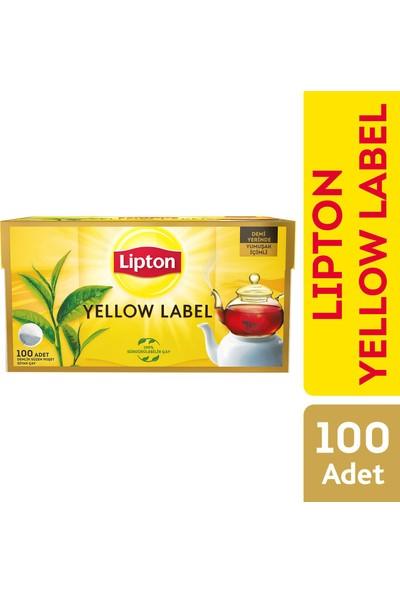 Lipton Yellow Label Demlik Poşet Çay 100'lü