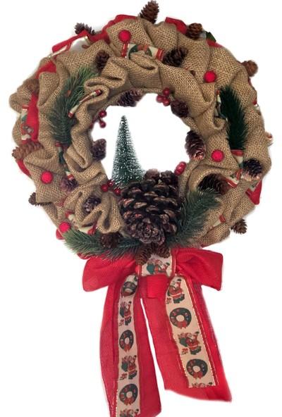 Db Handmade Arts & Crafts Yılbaşı Kapı Süsü