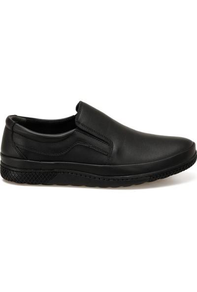 Polaris 160281.M Siyah Erkek Ayakkabı