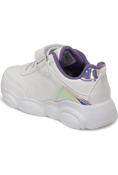 I Cool Moshi Beyaz Kız Çocuk Yürüyüş Ayakkabısı