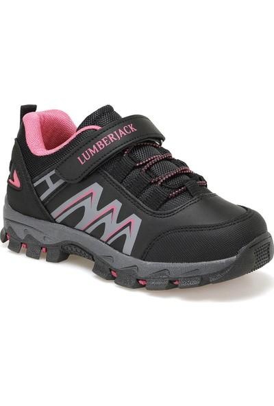 Lumberjack Under Siyah Kız Çocuk Yürüyüş Ayakkabısı
