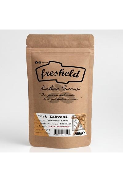 Fresheld Klasik Türk Kahvesi 250 gr Orta Kavrulmuş